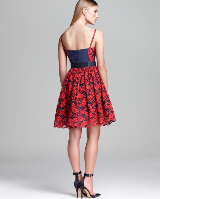 Alice + Olivia Red Black Nwt. Night Out Dress Size 2 (XS) Alice + Olivia Red Black Nwt. Night Out Dress Size 2 (XS) Image 2