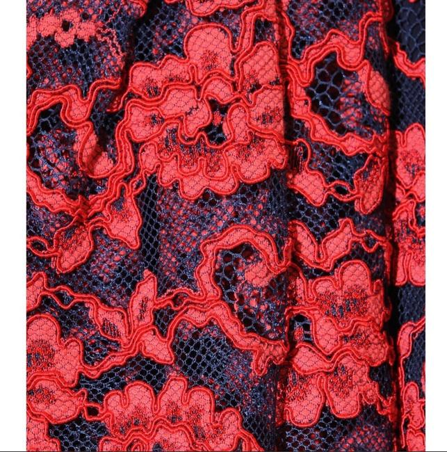 Alice + Olivia Red Black Nwt. Night Out Dress Size 2 (XS) Alice + Olivia Red Black Nwt. Night Out Dress Size 2 (XS) Image 5