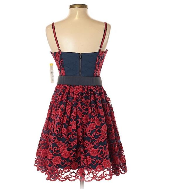 Alice + Olivia Red Black Nwt. Night Out Dress Size 2 (XS) Alice + Olivia Red Black Nwt. Night Out Dress Size 2 (XS) Image 7