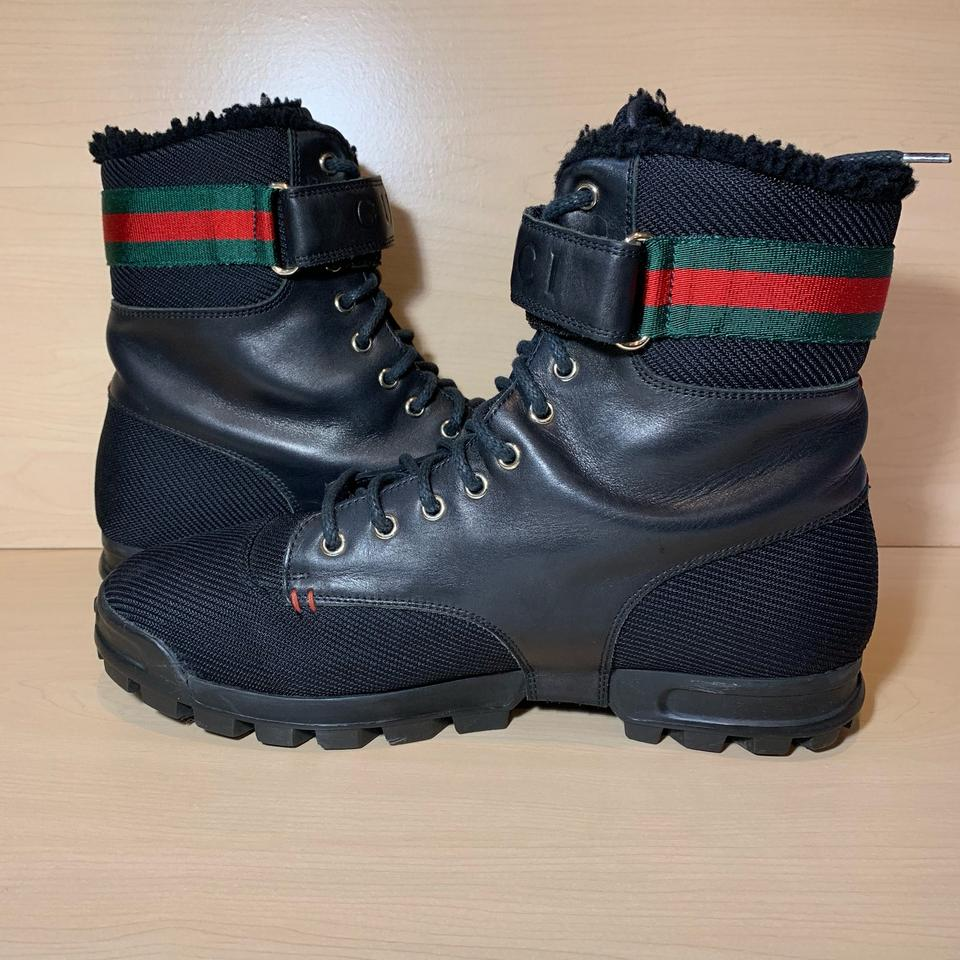 017ec3b8d66 Gucci Yes High Top Boots 162683 Sneakers Size US 9.5 Regular (M, B) 26% off  retail