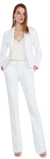 Item - White New Mid Rise Barely Columnist Pants Size 12 (L, 32, 33)