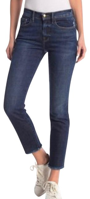 Preload https://img-static.tradesy.com/item/25414980/frame-blue-medium-wash-le-nouveau-straight-raw-hem-capricropped-jeans-size-6-s-28-0-1-650-650.jpg