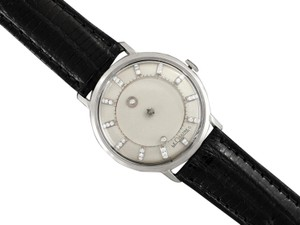 Jaeger-LeCoultre 1963 Jaeger-LeCoultre Vintage Galaxy Mystery Dial - 14K White Gold & D
