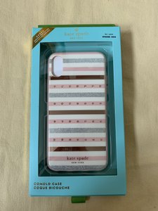 Kate Spade iPhone X / Xs - NWT Kate Spade ' Jeweled Stripe ' COMOLD CASE