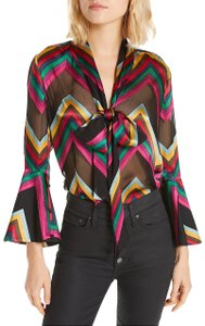 Alice + Olivia Top multi new with tag
