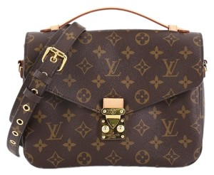 Louis Vuitton Canvas Metis brown Clutch - item med img
