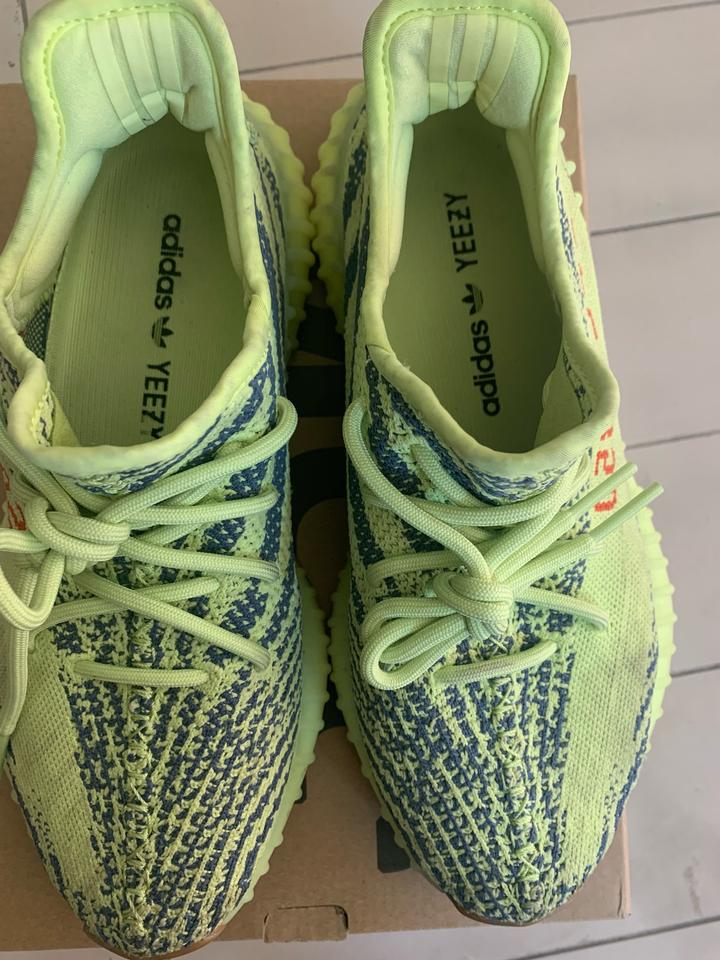 official photos f8f95 7b9d9 adidas X Yeezy Semi Frozen Yellow Boost 350 V2 Sneakers Size US 8 Regular  (M, B)