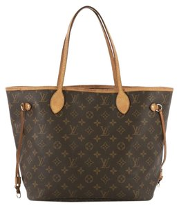 Louis Vuitton Canvas Medium Tote in brown