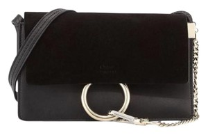 Chloé Black Small Faye Cross Body Bag