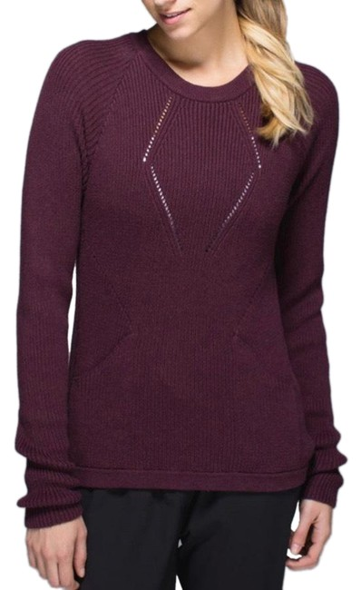 Item - The Better 8 Heathered Bordeaux Drama Sweater