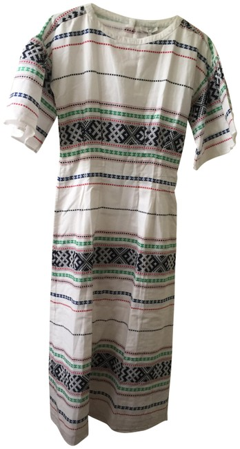Item - Multicolor Lilianaly Long Casual Maxi Dress Size 0 (XS)