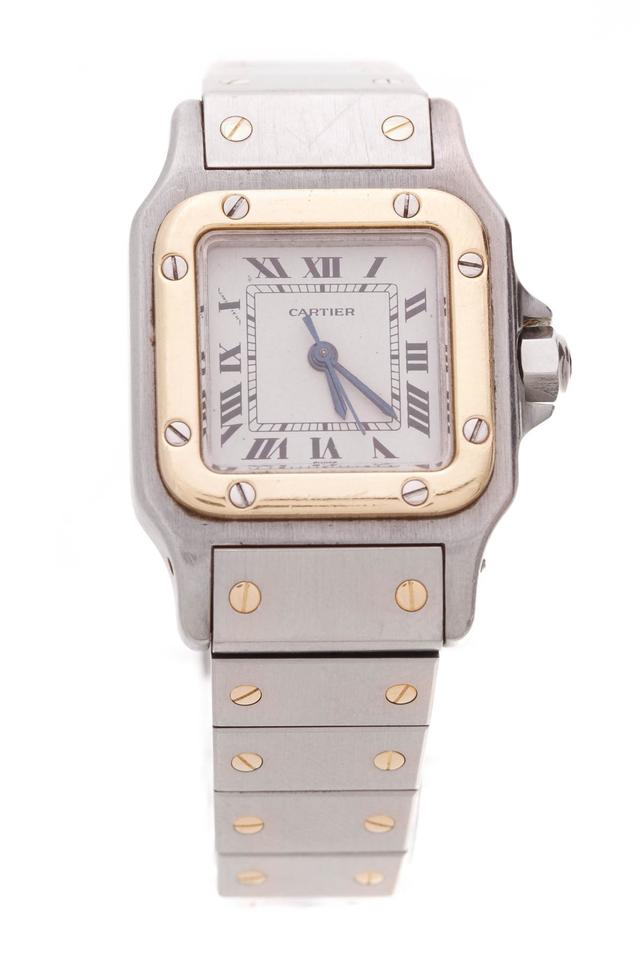 9aab2e7caf6 Cartier Cartier Santos Galbee Automatic Ladies Watch - Two-Tone Image 0 ...