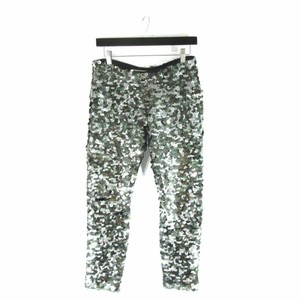 Isabel Marant Sequin Pull On Stretch Fit Skinny Jeans-Coated