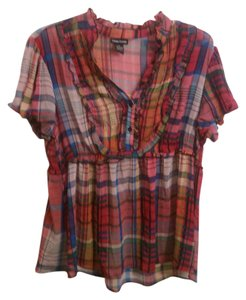 Cotton Express Flowy Top Multi