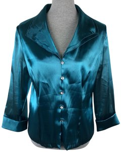 Xscape Top Teal