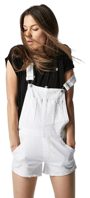 Item - White The Shorts Overalls In Romper/Jumpsuit