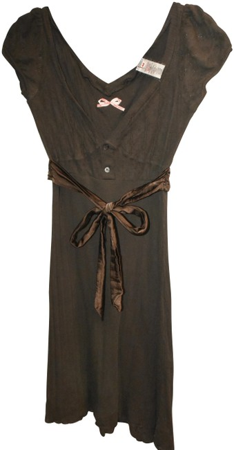 Item - Brown Short Casual Dress Size 10 (M)
