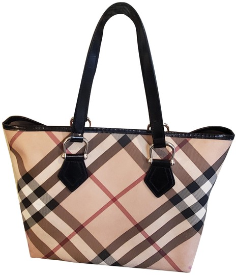 Preload https://img-static.tradesy.com/item/25417562/burberry-bag-nova-check-beige-pvc-leather-tote-0-1-540-540.jpg