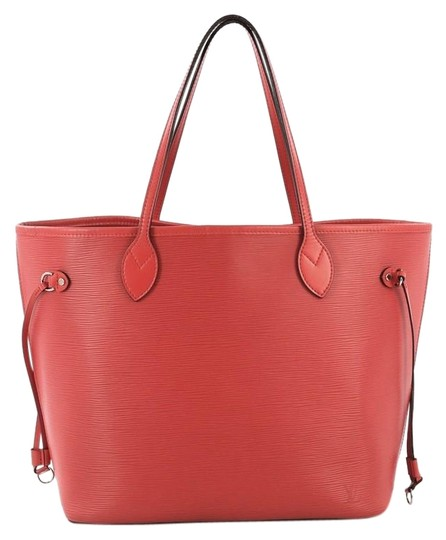 Preload https://img-static.tradesy.com/item/25417773/louis-vuitton-neverfull-mm-red-leather-tote-0-1-540-540.jpg
