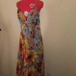 Multicolored Maxi Dress by Dave & Johnny