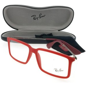 Ray-Ban RX7043-5468 Youngster Men's Red Frame Clear Lens Genuine Eyeglasses