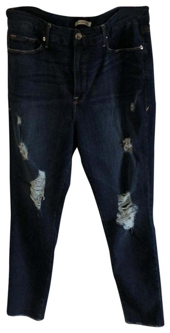 Item - Blue Distressed Legs Skinny Jeans Size 18 (XL, Plus 0x)