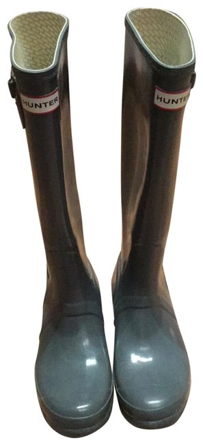 Item - Gray Wellies Boots/Booties Size US 7 Regular (M, B)