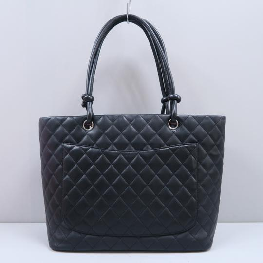 Chanel Cambon Cc Quilted Calfskin Shoulder Bag Image 1