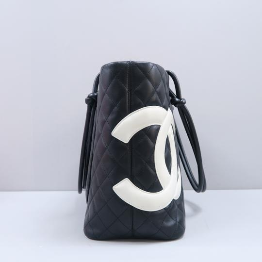 Chanel Cambon Cc Quilted Calfskin Shoulder Bag Image 2