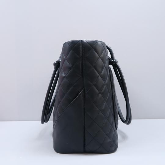 Chanel Cambon Cc Quilted Calfskin Shoulder Bag Image 3