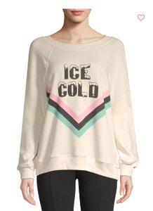 Wildfox Graphic Graphicsweat Jumper Cold Sweatshirt