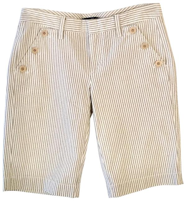 Item - New Unworn Summer Grey and White Striped Sailor Shorts Size 0 (XS, 25)