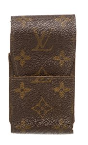Louis Vuitton Louis Vuitton Monogram Canvas Leather Cigarette Holder Case