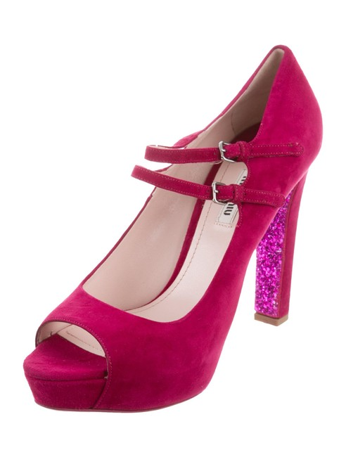 Item - Bouganville W Peep-toe Mary Jane Pumps W/ Tags Wedges Size EU 40 (Approx. US 10) Regular (M, B)