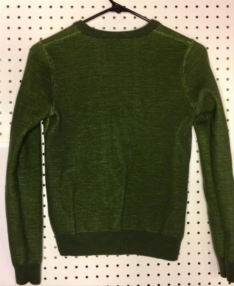 Kenzo Paris Tiger Green Wool Blend S Olive Sweater 62% off retail