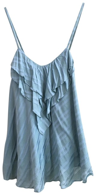 Item - Blue Green Layered with Straps Tank Top/Cami Size 2 (XS)