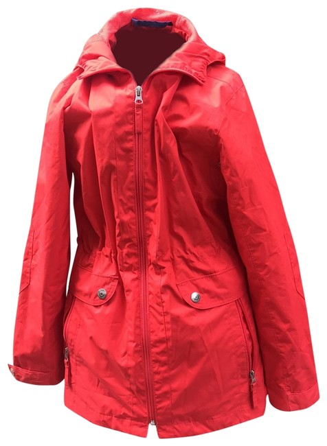 Item - Coral Hooded Coat Size 4 (S)