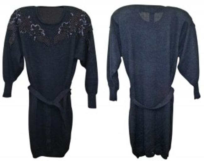 Preload https://item2.tradesy.com/images/belldini-black-4916-acrylic-beaded-sweater-above-knee-night-out-dress-size-4-s-25421-0-0.jpg?width=400&height=650