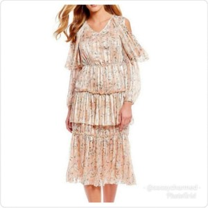 Pink Gold Maxi Dress by Chelsea & Violet