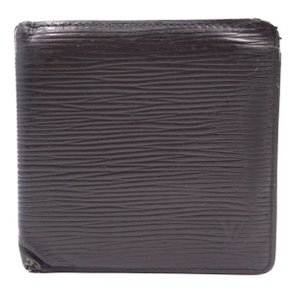 afae47e353 Louis Vuitton Epi leather Bifold Wallet classic multi card slots bill holder