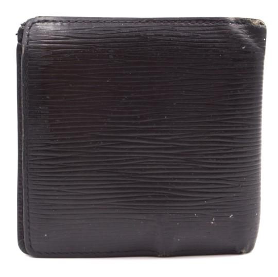 Louis Vuitton Epi leather Bifold Wallet classic multi card slots bill holder Image 1