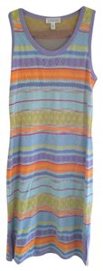St. John short dress Multicolored on Tradesy