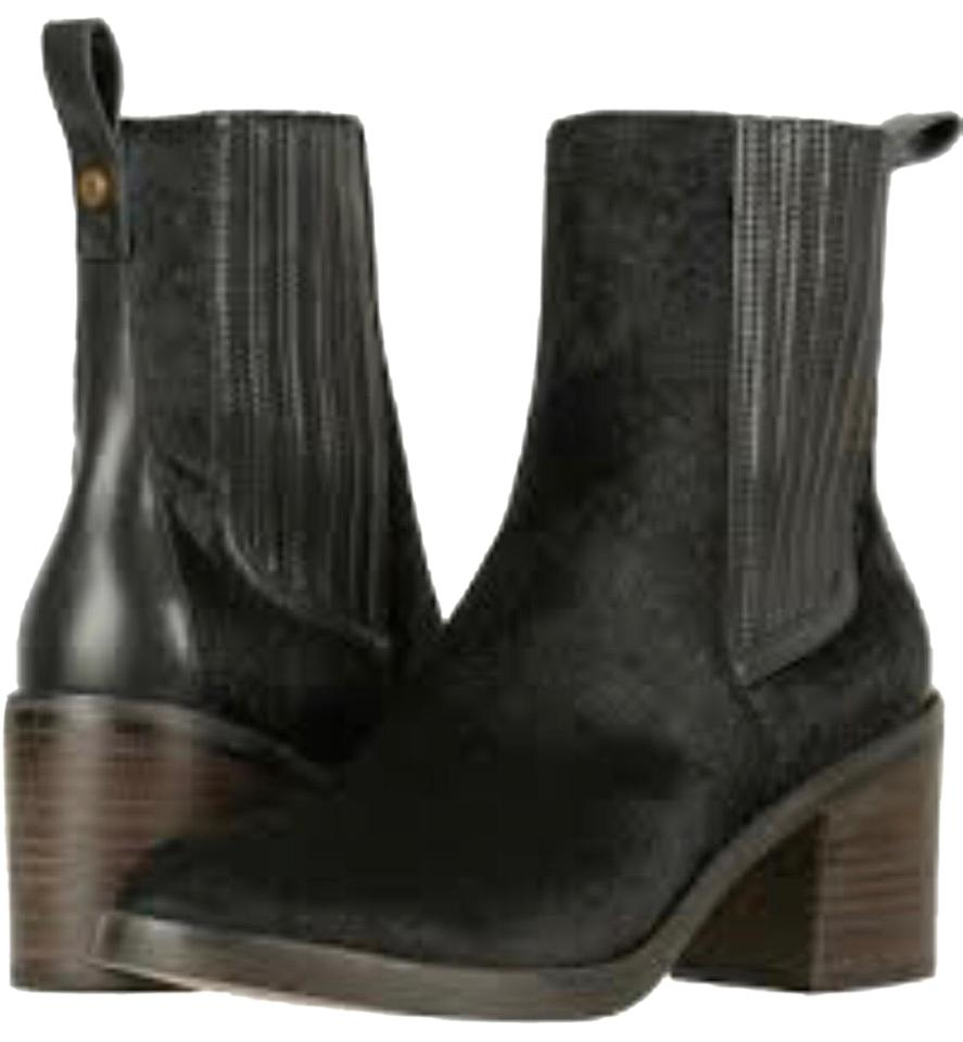 c8434a67a57 UGG Australia Camden Exotic Black Leather High Heel Boots*nwt Boots/Booties  Size US 7.5 Regular (M, B) 60% off retail