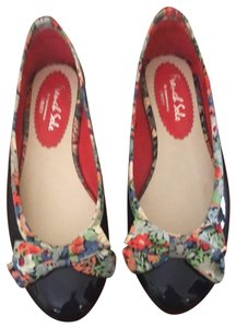French Sole Blue Flats
