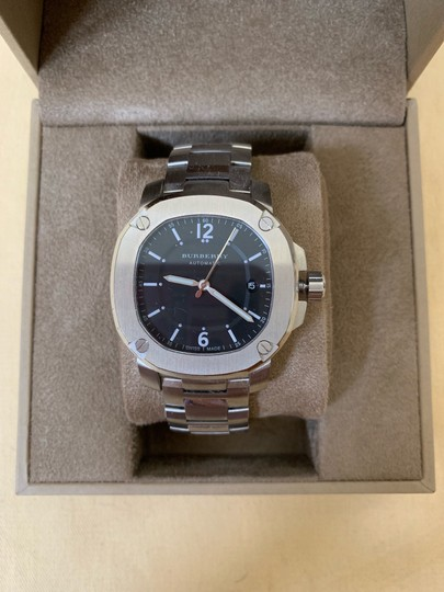 Burberry Brand New Burberry THE BRITAIN Automatic Stainless Steel Watch BBY1203 Image 1