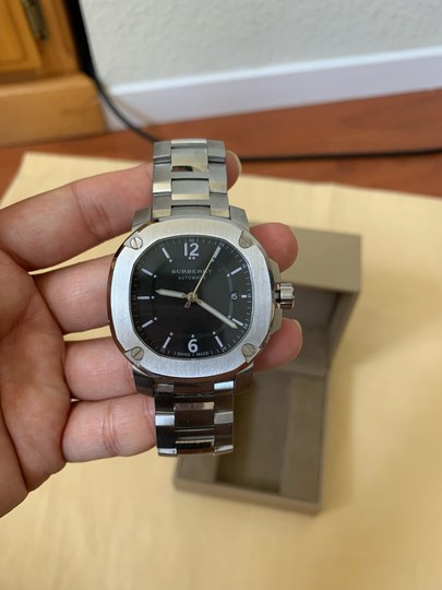Burberry Brand New Burberry THE BRITAIN Automatic Stainless Steel Watch BBY1203 Image 5