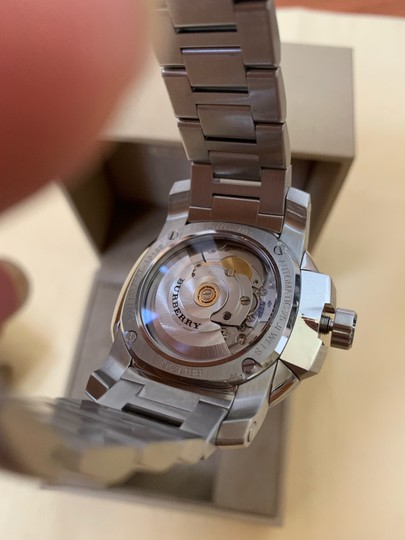 Burberry Brand New Burberry THE BRITAIN Automatic Stainless Steel Watch BBY1203 Image 8