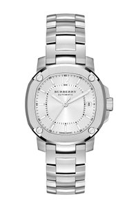 Burberry $1795 NWT The Britain Women's Automatic Swiss Made Watch BBY1601