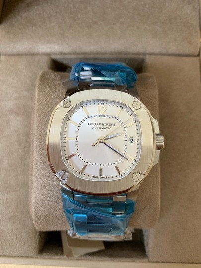 Burberry $1795 NWT The Britain Women's Automatic Swiss Made Watch BBY1601 Image 1