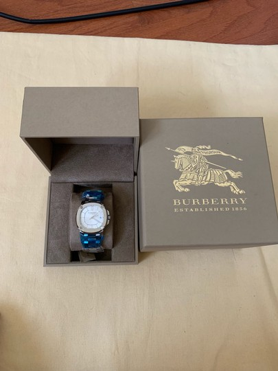 Burberry $1795 NWT The Britain Women's Automatic Swiss Made Watch BBY1601 Image 10